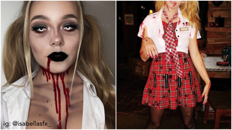 Deadly Beautiful: 8 Halloween Outfit & Makeup Ideas for 2018.