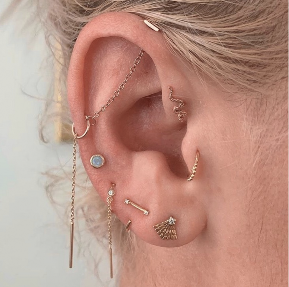 ear piercing trends 2020