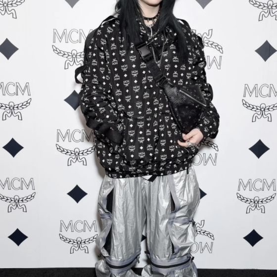 Billie Eilish At The MCM Global Flag Ship Store