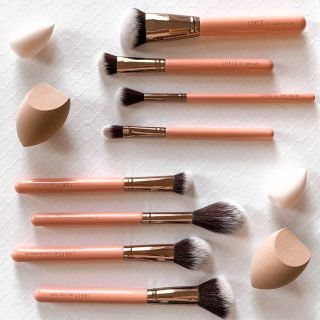 luxie beauty brush sets